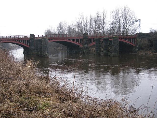Dalmarnock Railway Bridge