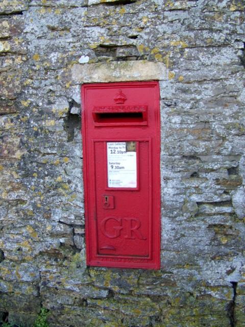 Postbox, North Cheriton