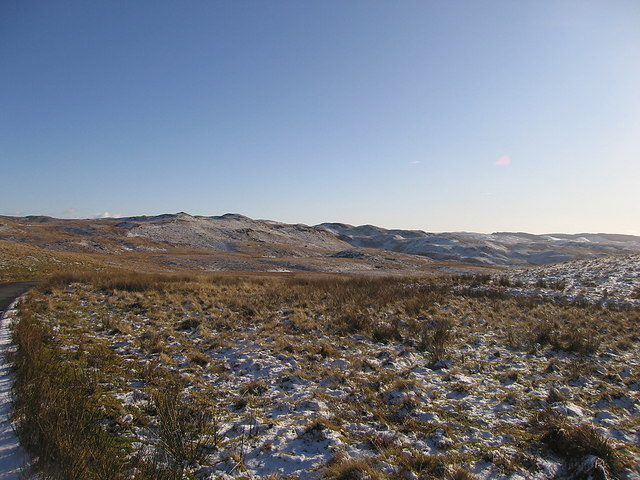 Source grounds of the Afon Teifi