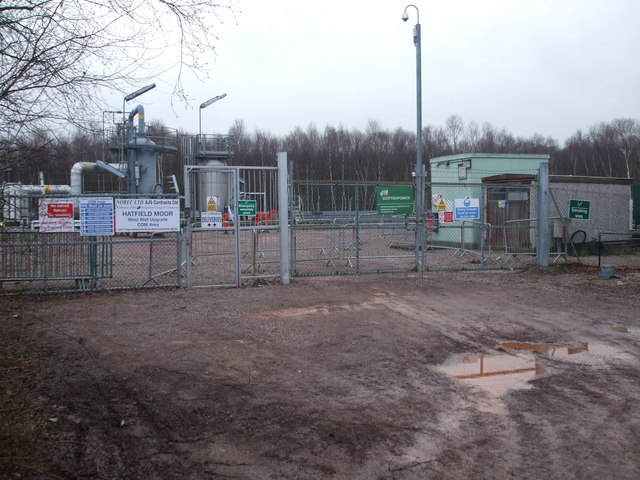 Hatfield Moor Gas Storage Wellsite