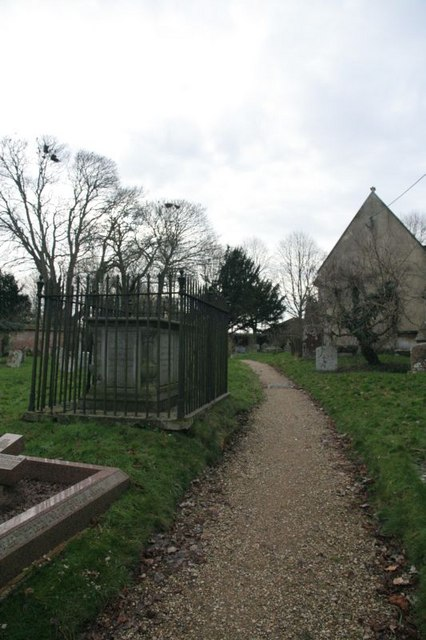 Footpath past the tomb