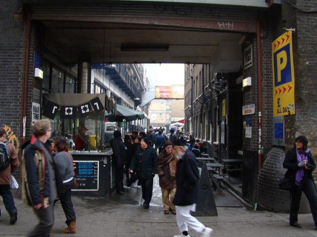 Old Spitalfields marketplace