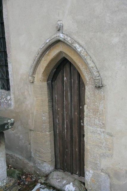 Door to the chancel
