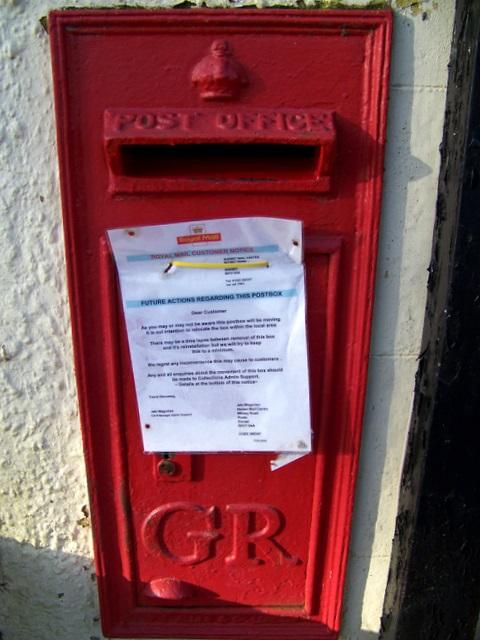 Postbox, Charlton Horethorne
