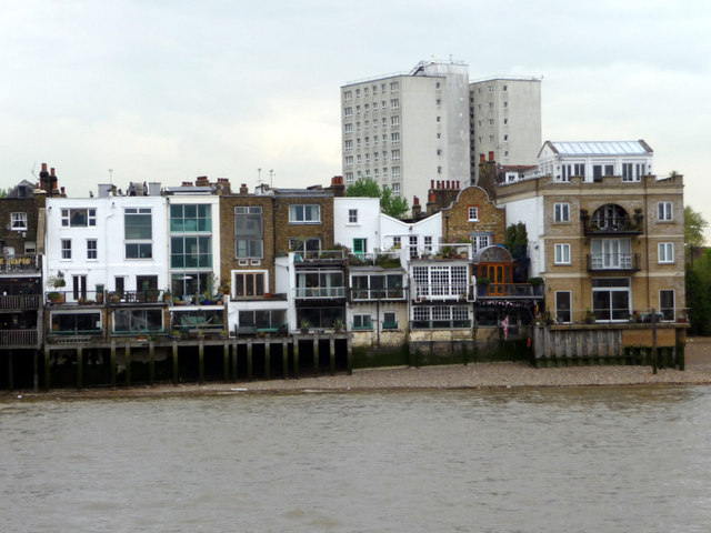 Thames Shoreline, Limehouse, London