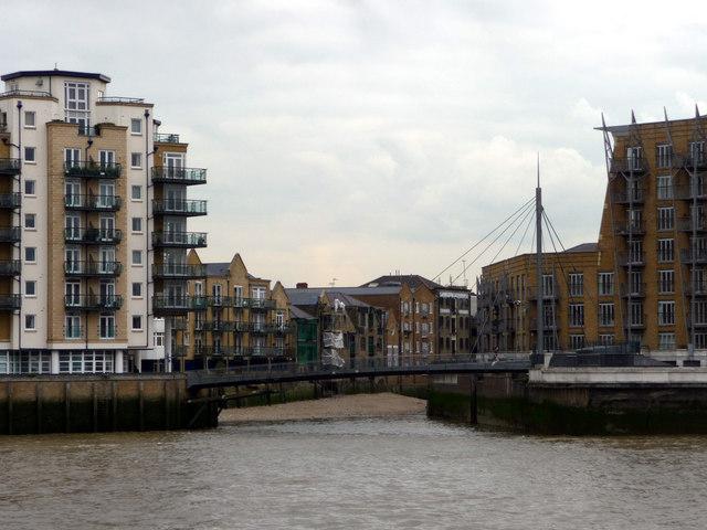New Apartment Blocks, Limehouse, London