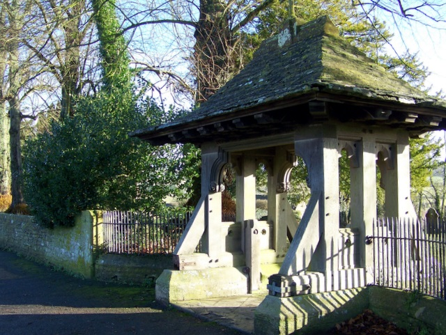 Lych gate, Church of St Peter and St Paul