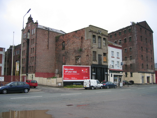 Old buildings on Waterloo Road