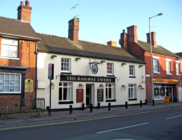 The Railway Tavern, 62 Upper Bar