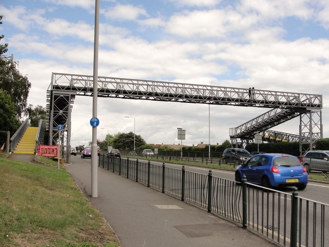 Footbridge at Whitton