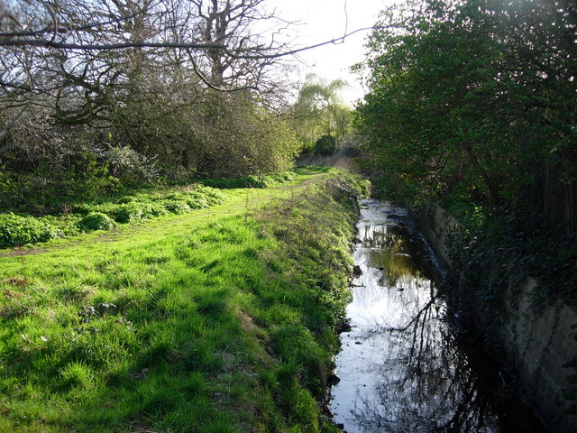 Stream through Berrylands