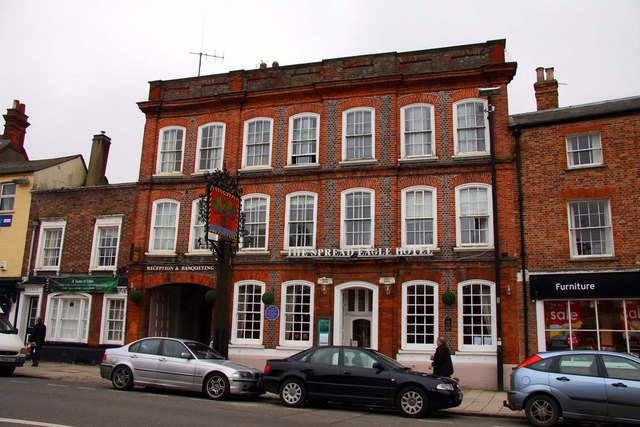 The Spread Eagle Hotel in Thame