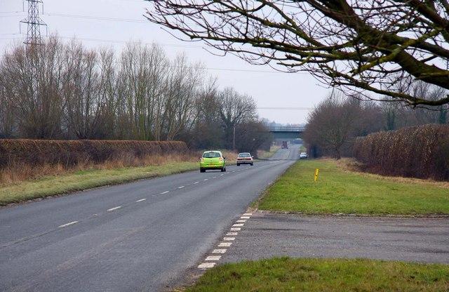 The B4009 near Longwick