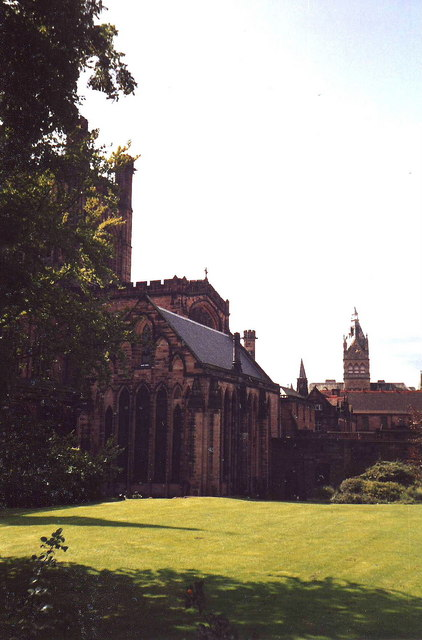 North transept of Chester Cathedral