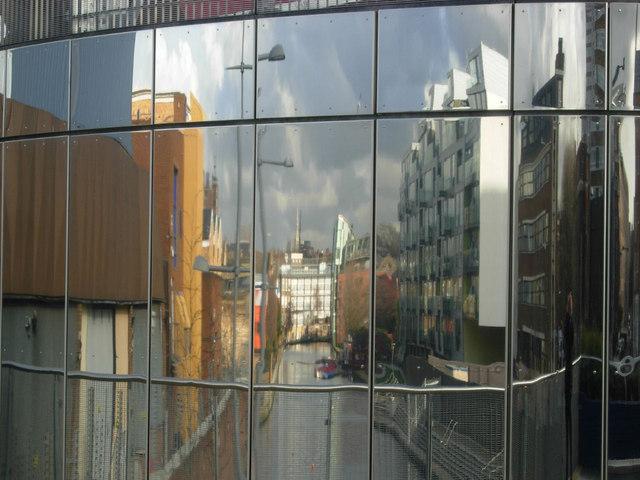 City Road Basin reflections