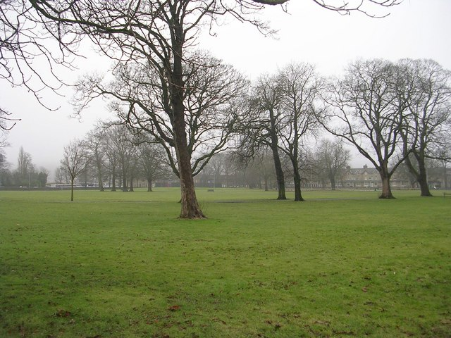 Victoria Park - viewed from Hard Ings Road