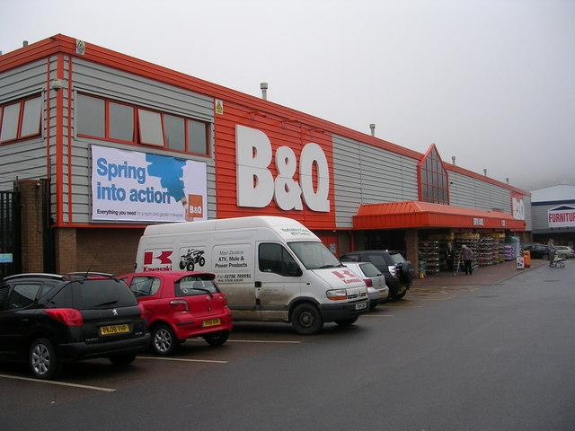 B & Q - Alston Retail Park