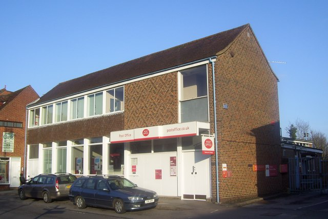 Romsey Post Office February 2010 - new livery