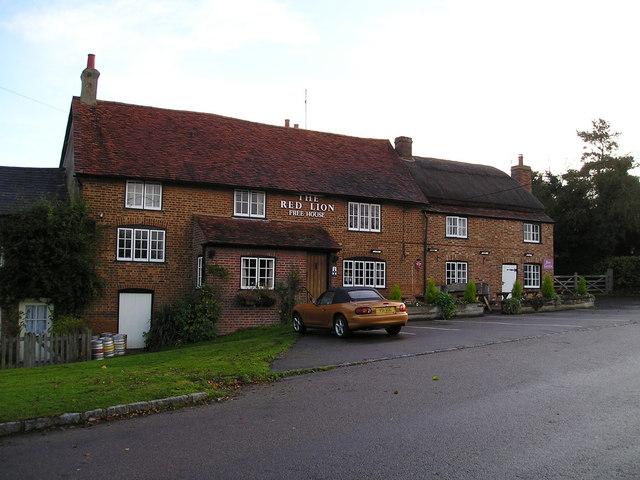 The Red Lion Pub, Marsworth