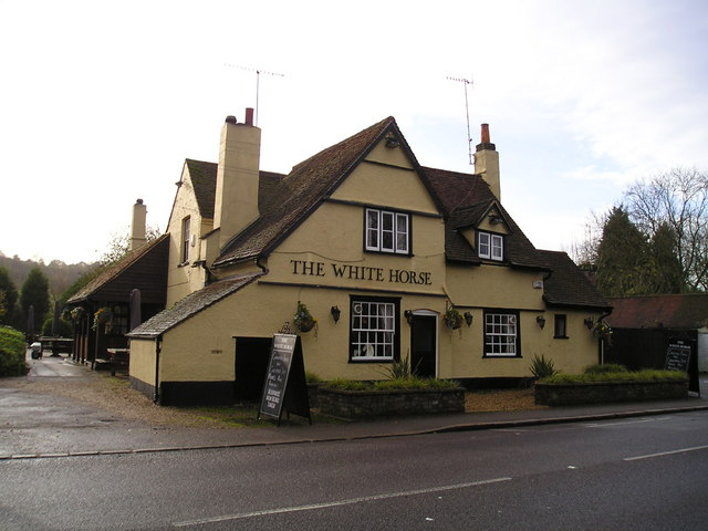 The White Horse Pub, Bourne End
