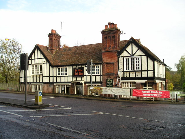 Ye Olde Red Lion Pub, Nash Mills, Hemel Hempstead