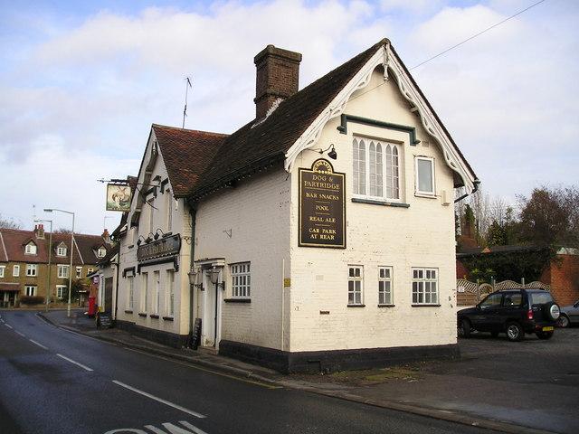 The Dog and Partridge Pub, Hunton Bridge