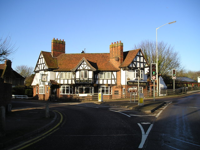 The White Bear Pub, Batchworth, Rickmansworth