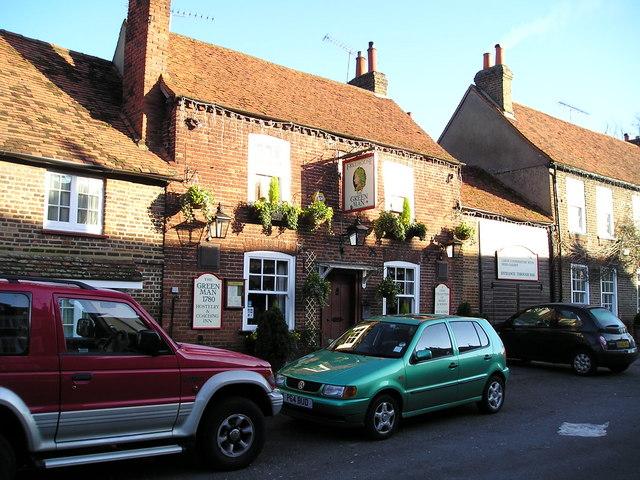 The Green Man Pub, Denham, Uxbridge