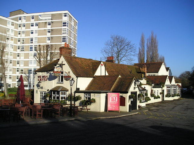 The Swan and Bottle Pub, Uxbridge