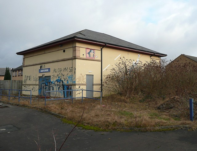 Auditorium of the former Transperience transport museum , Low Moor, North Bierley