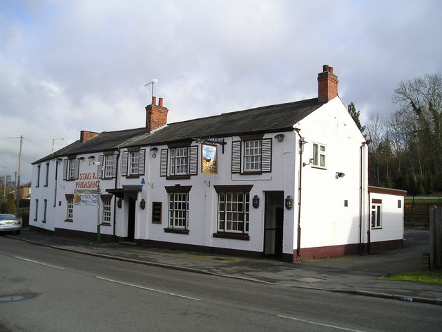 The Stag and Pheasant Pub, Hillmorton, Rugby