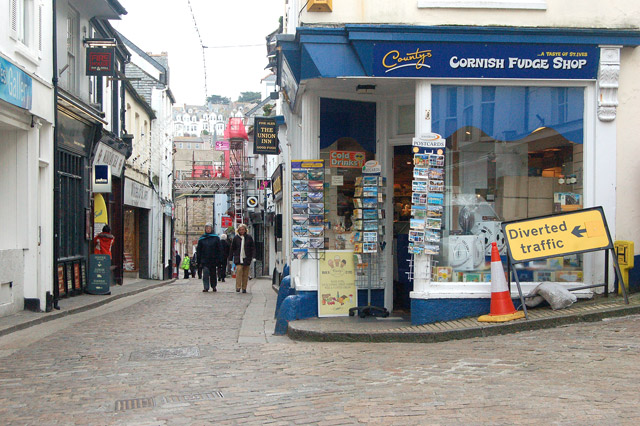 Cornish Fudge Shop Fore Street St Ives 169 Andy F