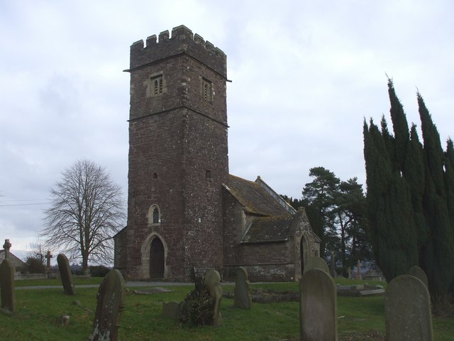 Church of St John the Baptist, Llanhennock