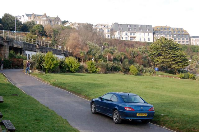 Ornamental gardens behind Porthminster beach, St Ives