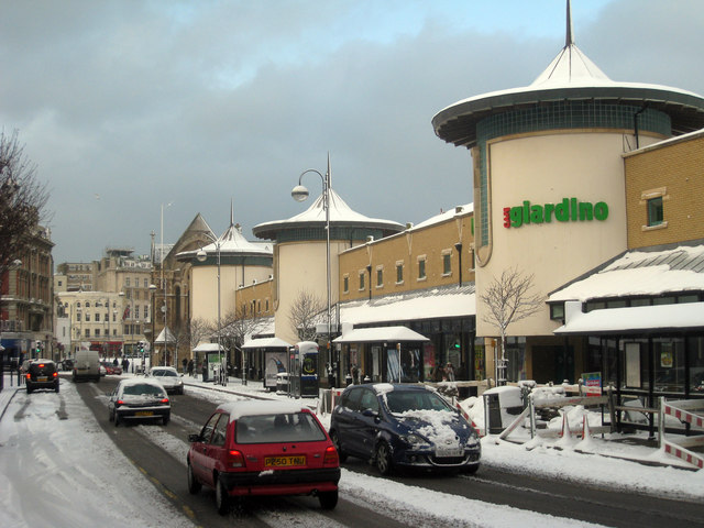Priory Meadow Shopping Centre, Hastings