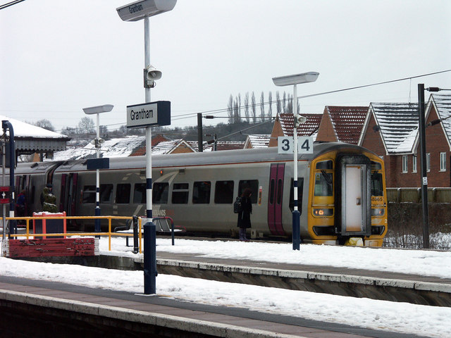 Platform 4, Grantham railway station