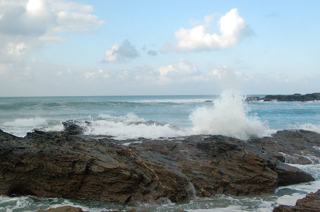Winter waves at Godrevy (2)