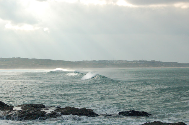 Winter waves at Godrevy (5)