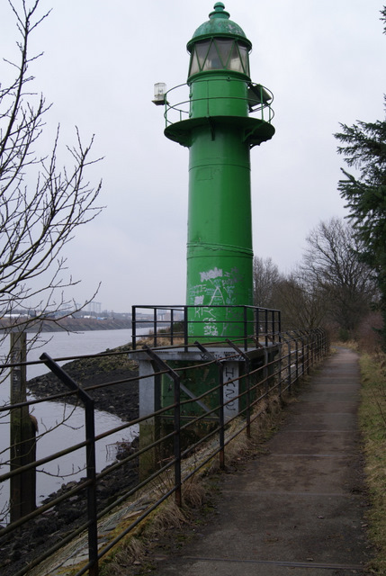Lighthouse by the Clyde