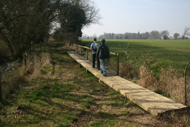 Footpath improvement, Pingo Trail