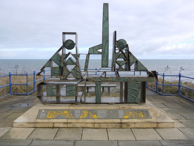 Vane Tempest Colliery sculpture