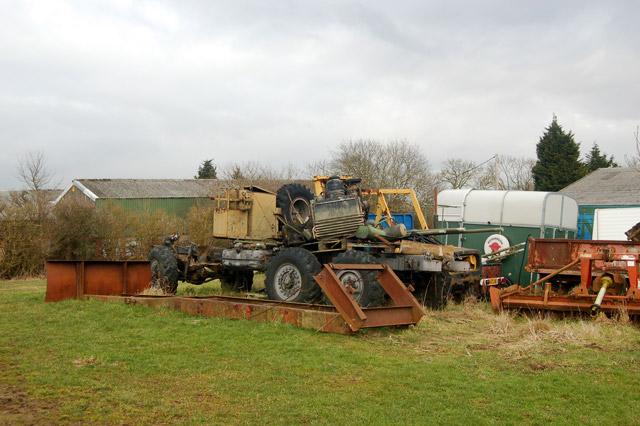 Farm clutter near Flecknoe