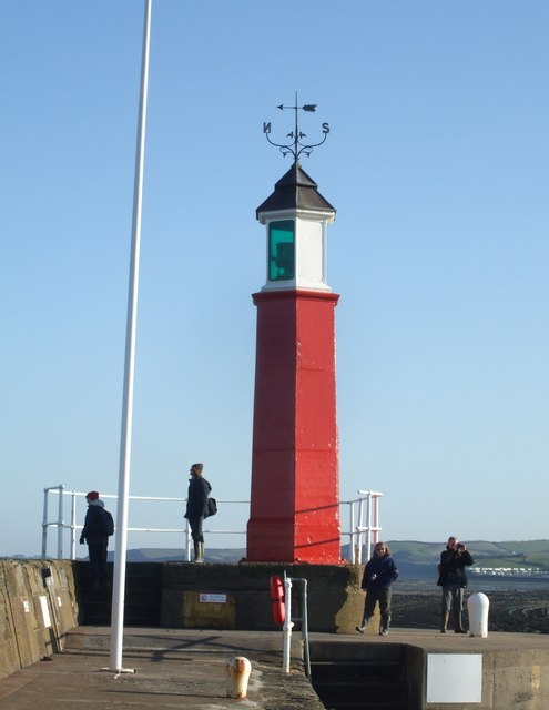 Watchet lighthouse