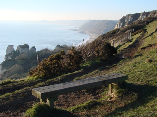 Rest on the way to Branscombe Mouth - at the Hooken Cliffs