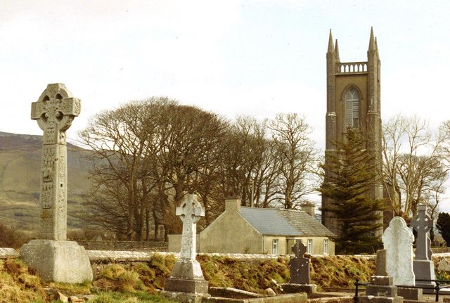 St Columba's church, Drumcliff and the past