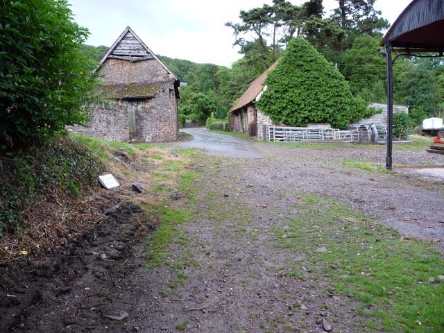ORPA through Selworthy Farm