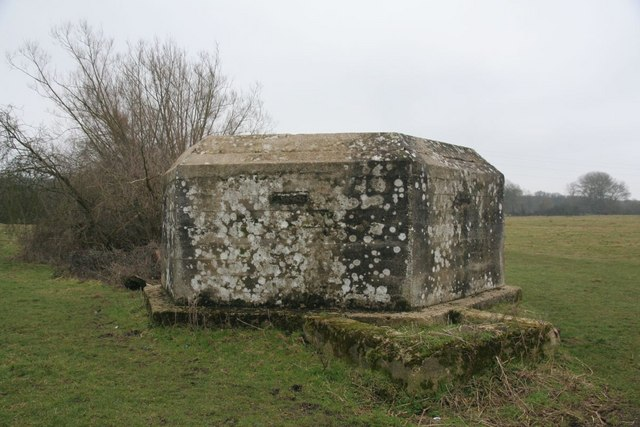Front of the pillbox