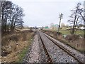 TQ8632 : Kent and East Sussex  Railway line - heading to Rolvenden Station by David Anstiss