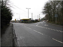 NS8255 : A73 / A71 Road Junction by G Laird