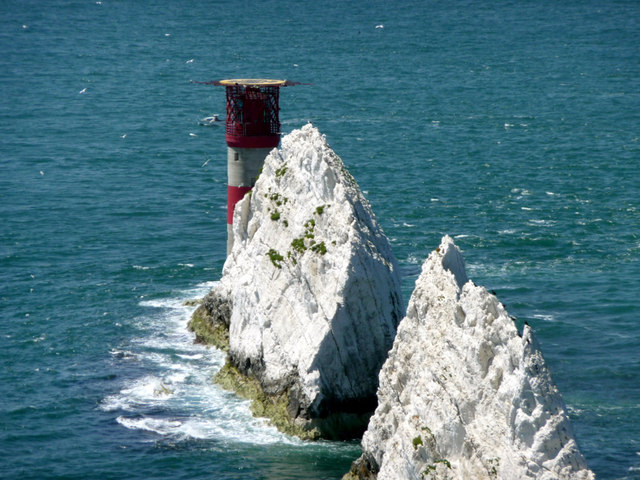 The Needles from the Old Battery, Isle of Wight